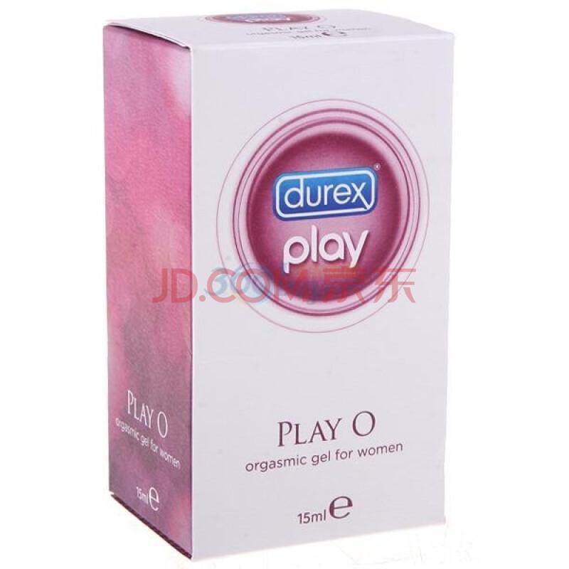 【京东超市】杜蕾斯 人体润滑剂 润滑油 润滑液 情趣 水溶性 女性快感增强液 PlayO 15ml 原装进口 Durex