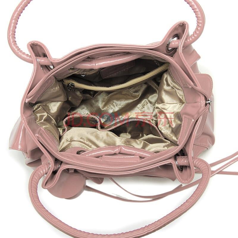 浪美玫瑰浪漫情怀系列优雅单肩包粉色1012336413图片图片