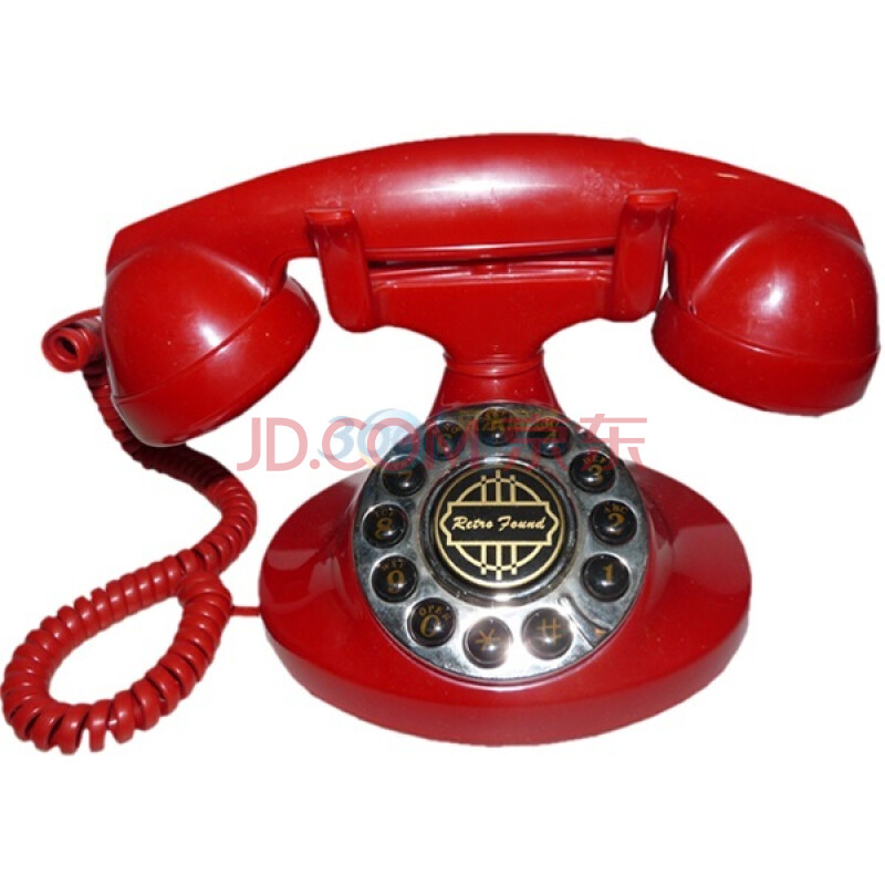 ...S浪漫情怀 仿古电话 ,原型为美国贝尔公司的一款电话机 红色