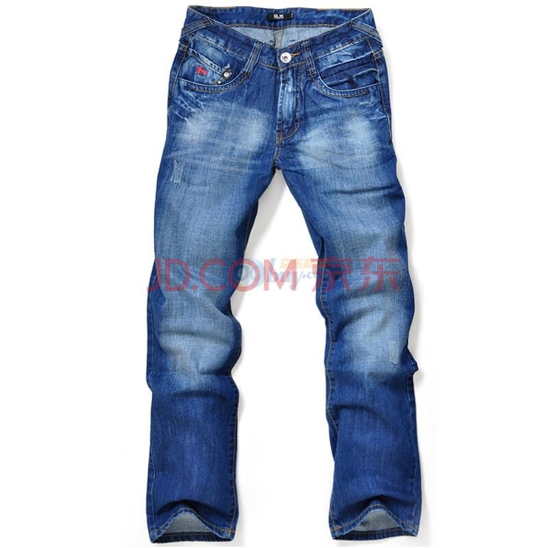 式牛仔裤牛仔蓝30码81162100415930图片