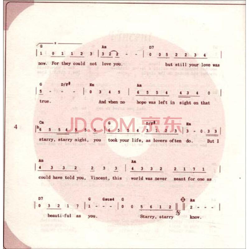 学猫叫歌曲吉他谱子-唱歌学英语 怀念金曲典藏 附赠dvd光盘1张