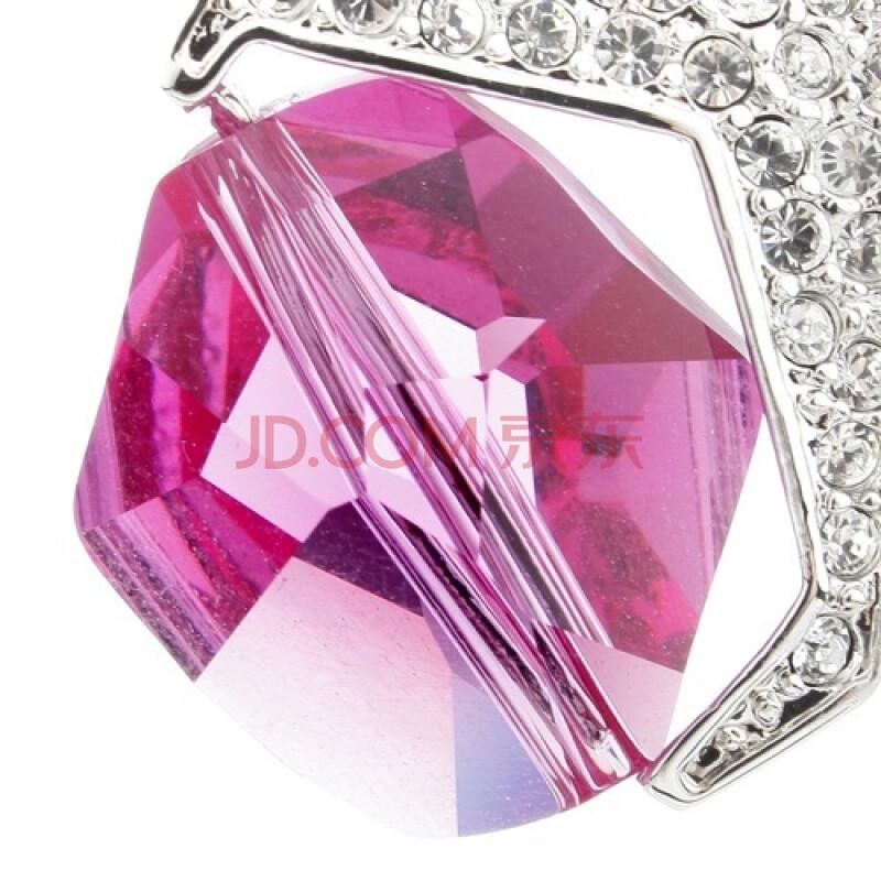 新光饰品爱转动情人送礼水晶项链