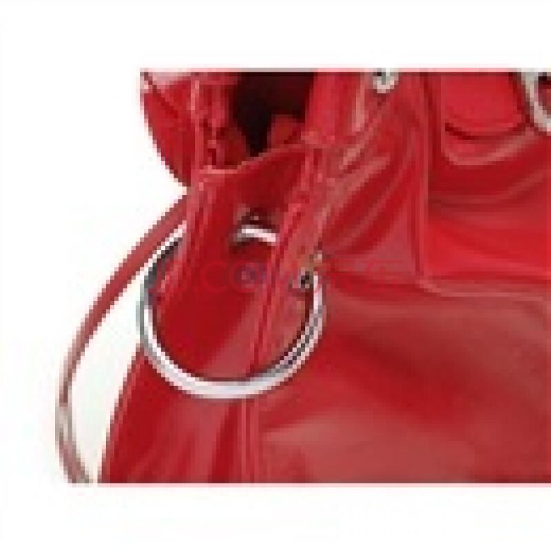 浪美玫瑰浪漫情怀系列优雅两用包中国红1012336516图片图片