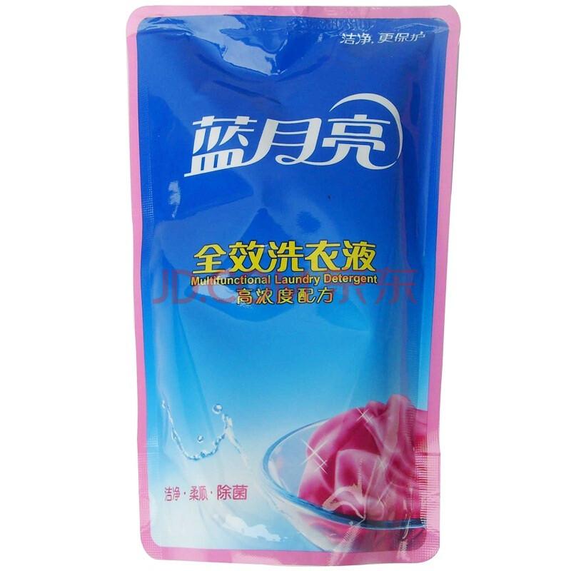 【蓝月亮洗衣液】蓝月亮全效洗衣液袋装500g图片-京