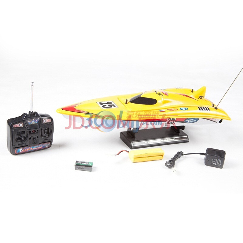 新奇达 遥控玩具快艇 757t-6017 双螺旋桨