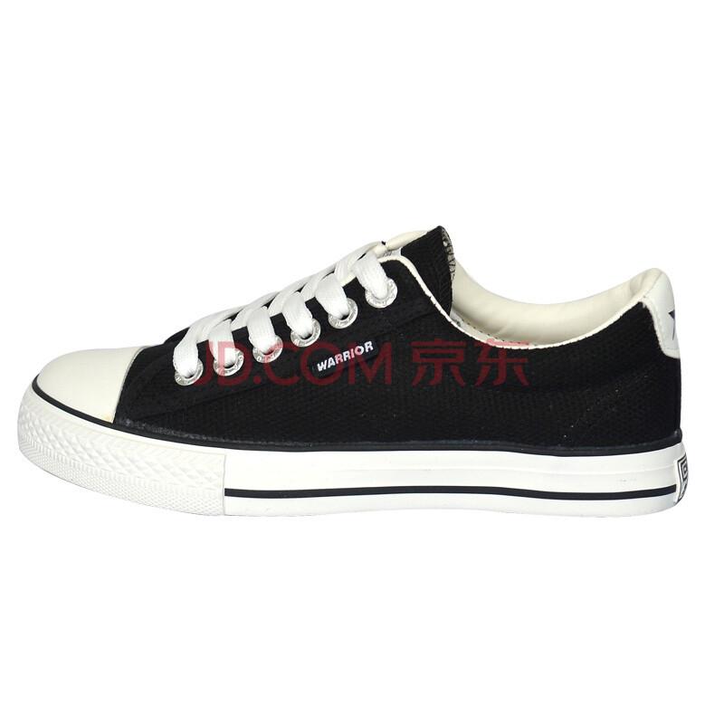 回力休闲帆布运动鞋 运动休闲 黑色系