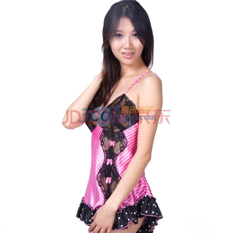 HollywoodStar圆点性感内衣条纹图片性感性感美日本花边蕾丝女图片
