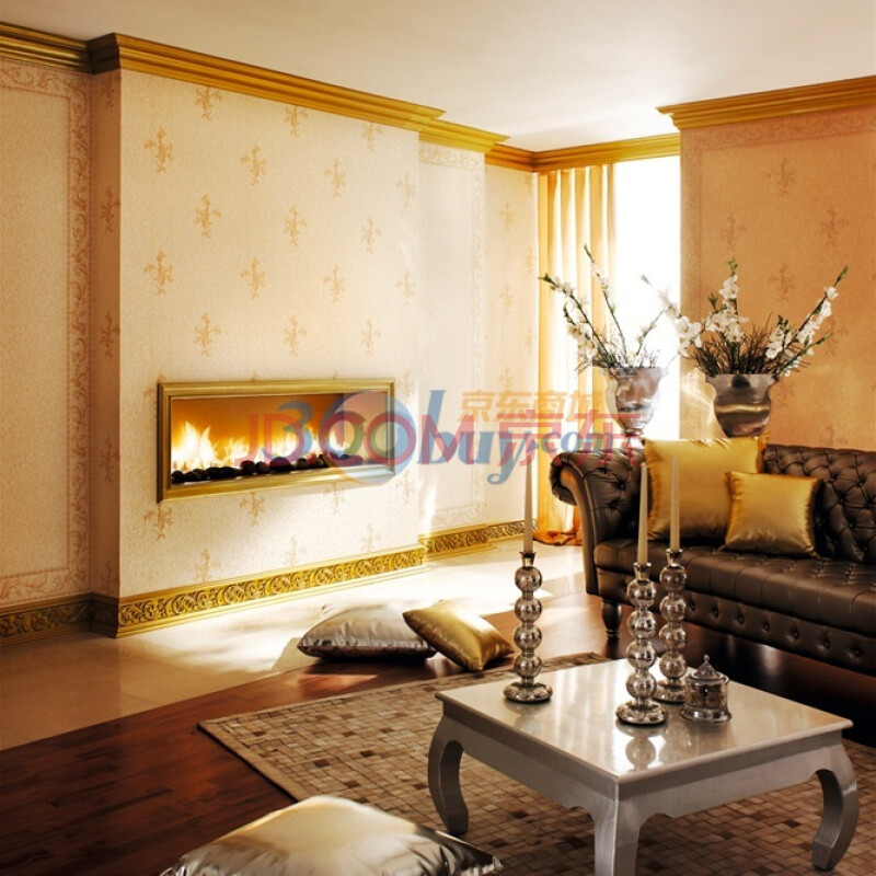 3平方 客厅电视背景墙纸 欧式古典卧室图片
