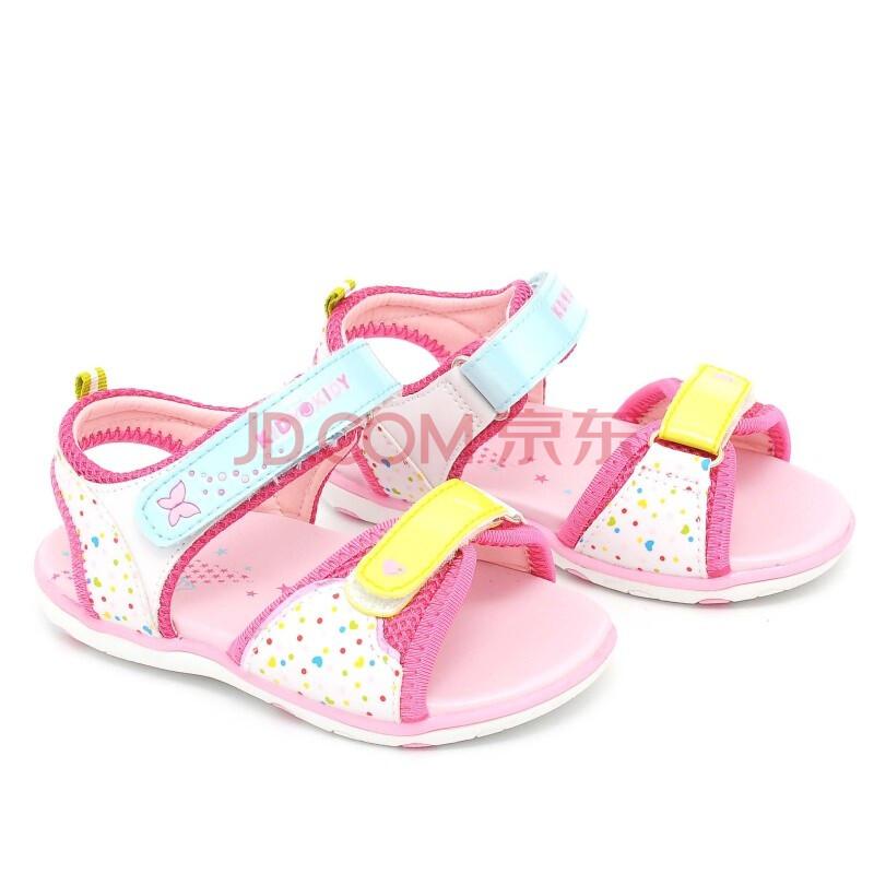 儿童凉鞋公主鞋k