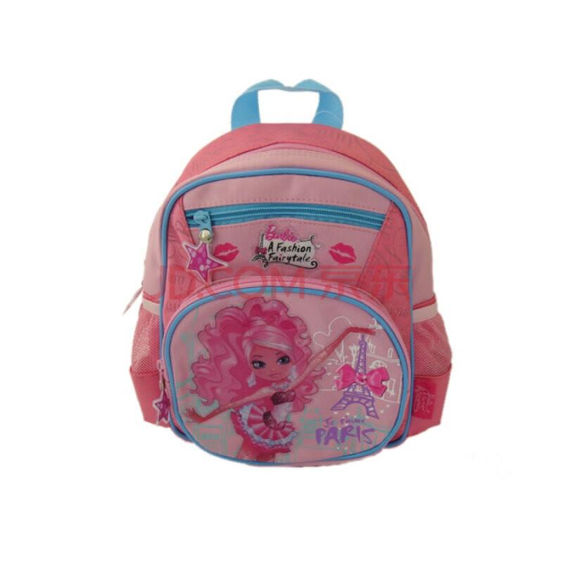 儿童书包背包-时尚小芭比(蓝)bb2103