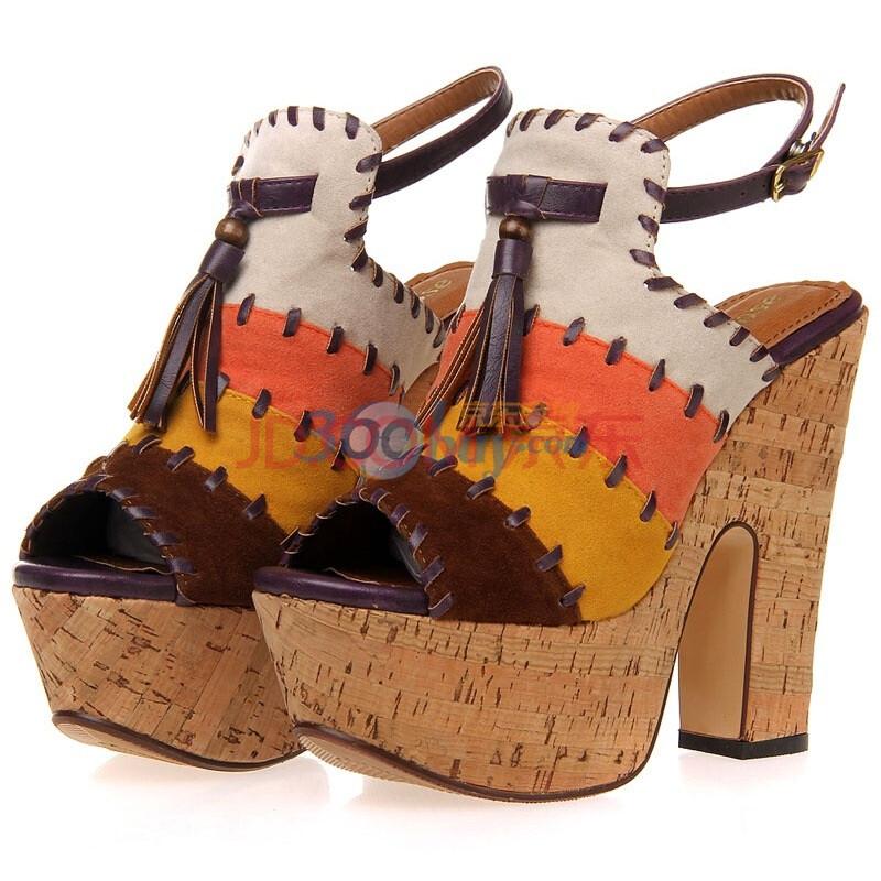 春夏季vivi厚底鞋