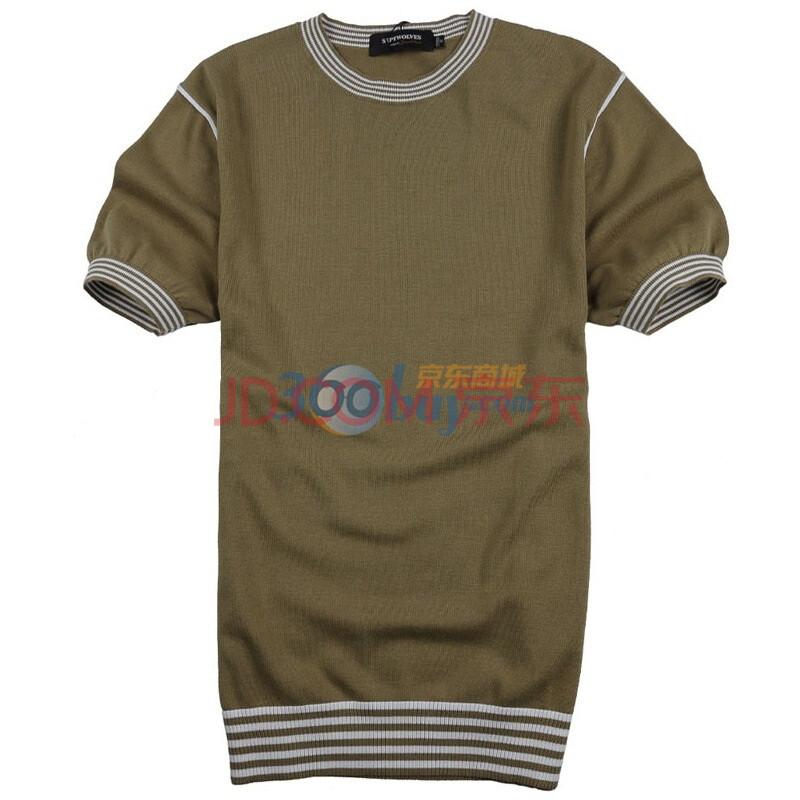 短袖圆领线衫