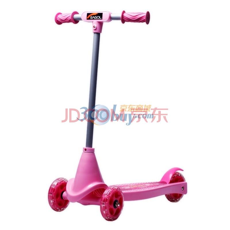 逸格2011夏季全新儿童三轮滑板车-粉色
