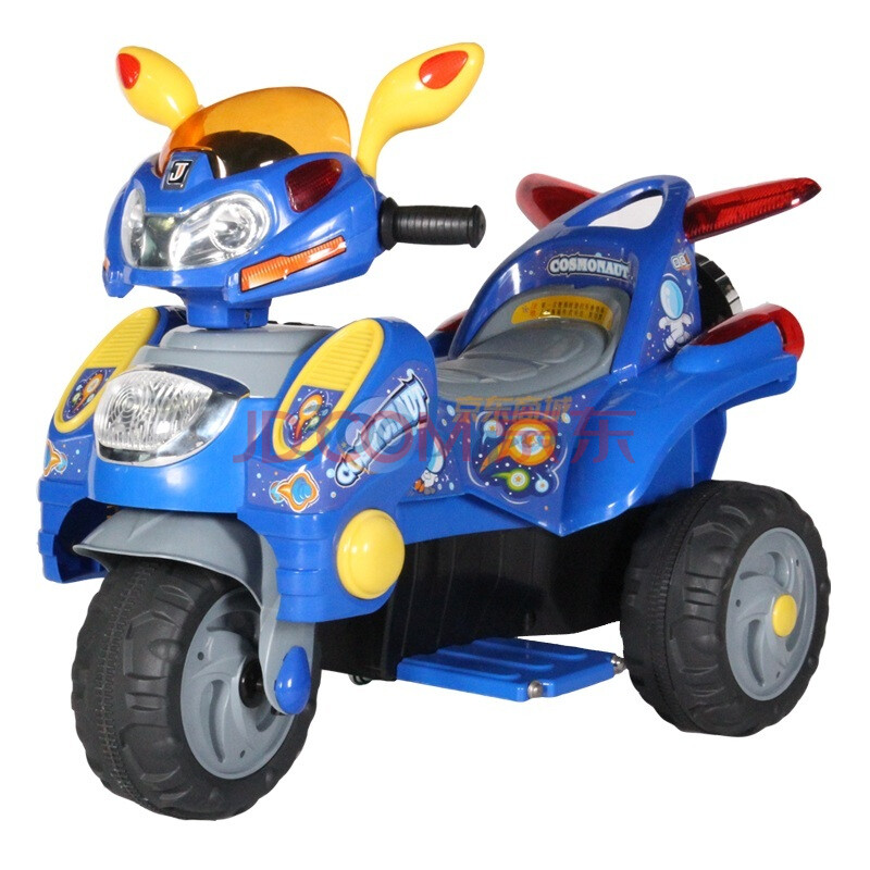 BeRica贝瑞佳 儿童电动车 三轮电动摩托车 带M