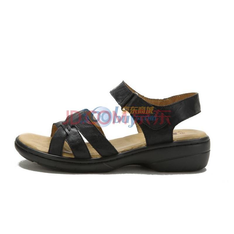 骆驼女鞋 2012夏款夏日清凉日常休闲女凉鞋沙滩