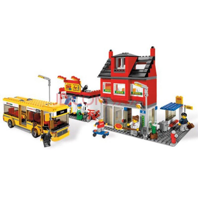 乐高(LEGO)益智积木拼插玩具-城市一角 7641图片-京东