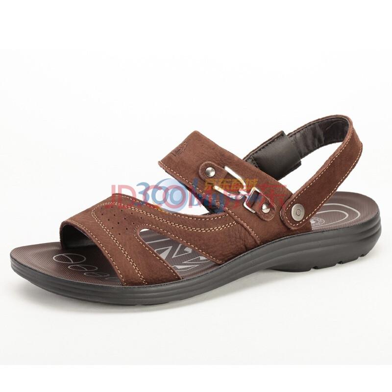 CAMEL/ 骆驼 夏季男鞋 男款凉拖两用沙滩鞋 2070067 棕色 44