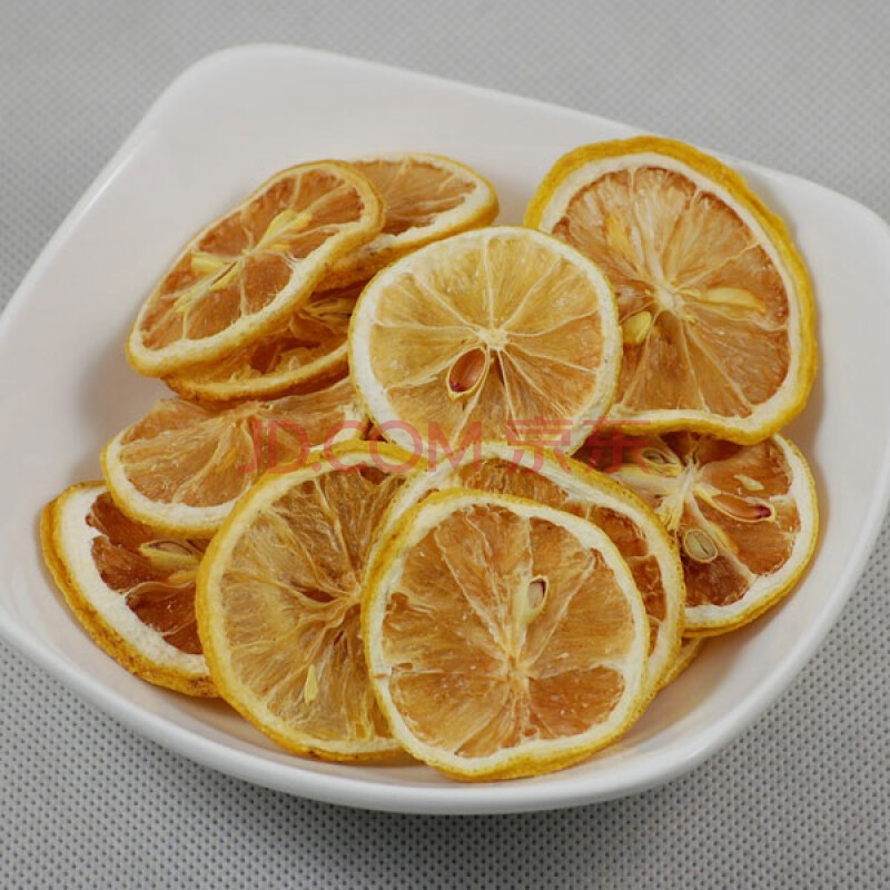 柠檬片茶_果记花草茶水果茶柠檬片100g3包图片