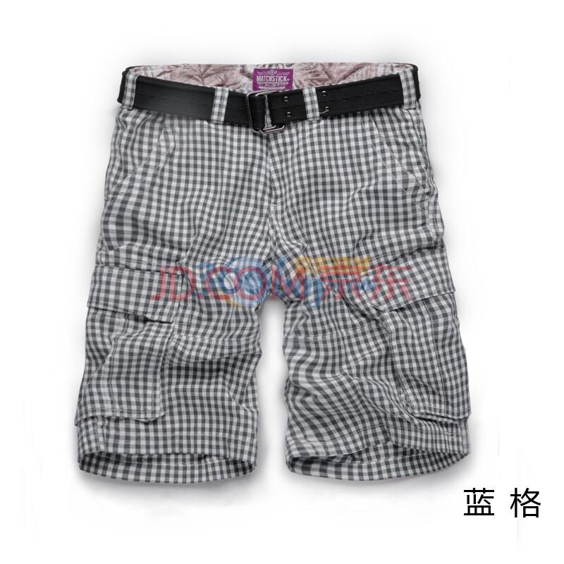 麻吉match 新款男士短裤