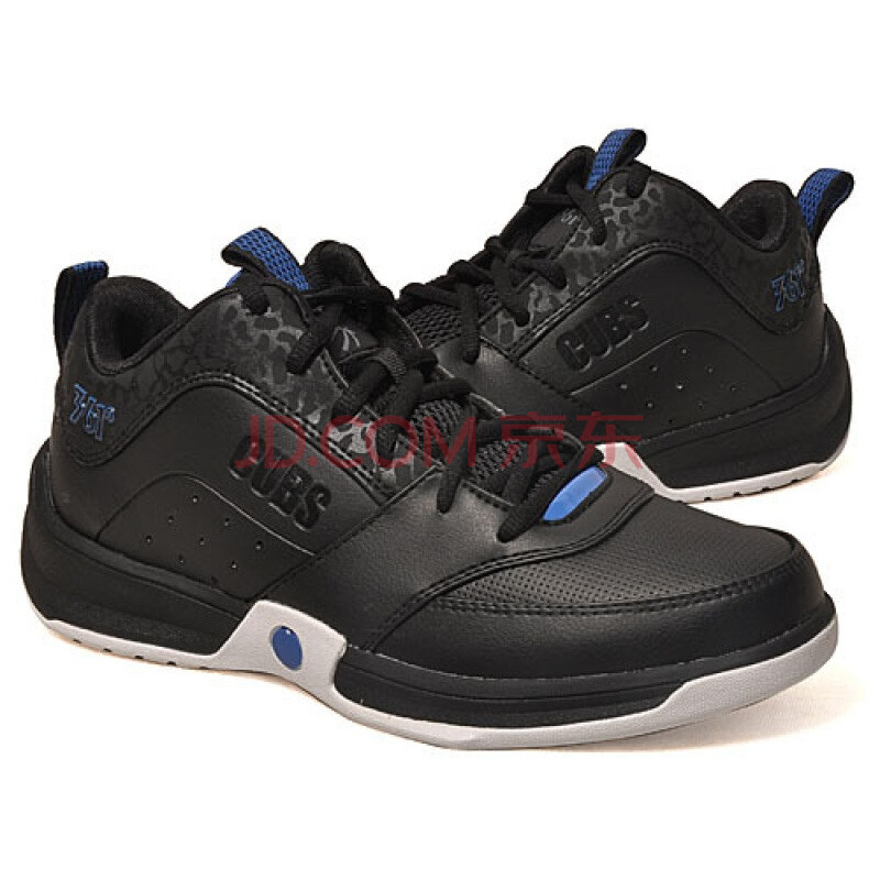 361°男式比赛篮球鞋7111104黑/蓝