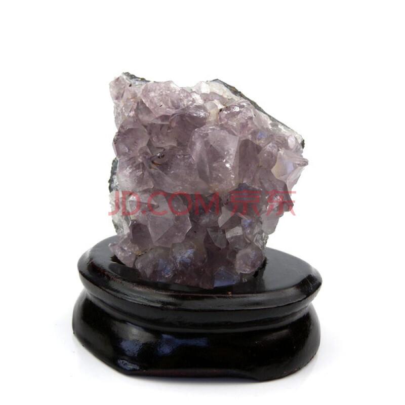 一生一石天然乌拉圭紫晶簇小摆件114
