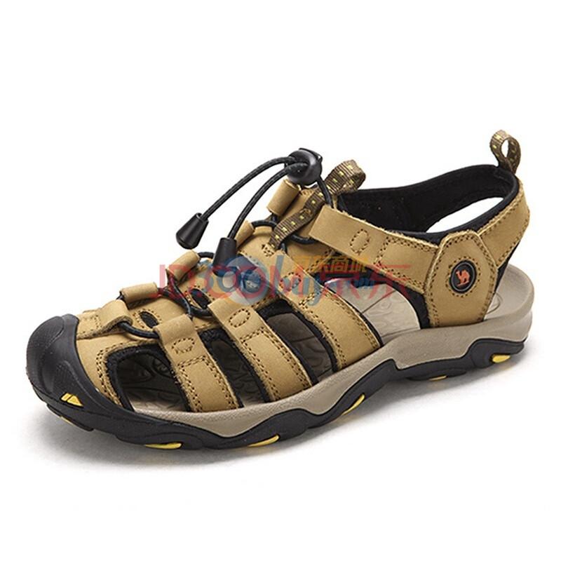 camel/骆驼男鞋 2012新款户外休闲沙滩溯溪凉鞋