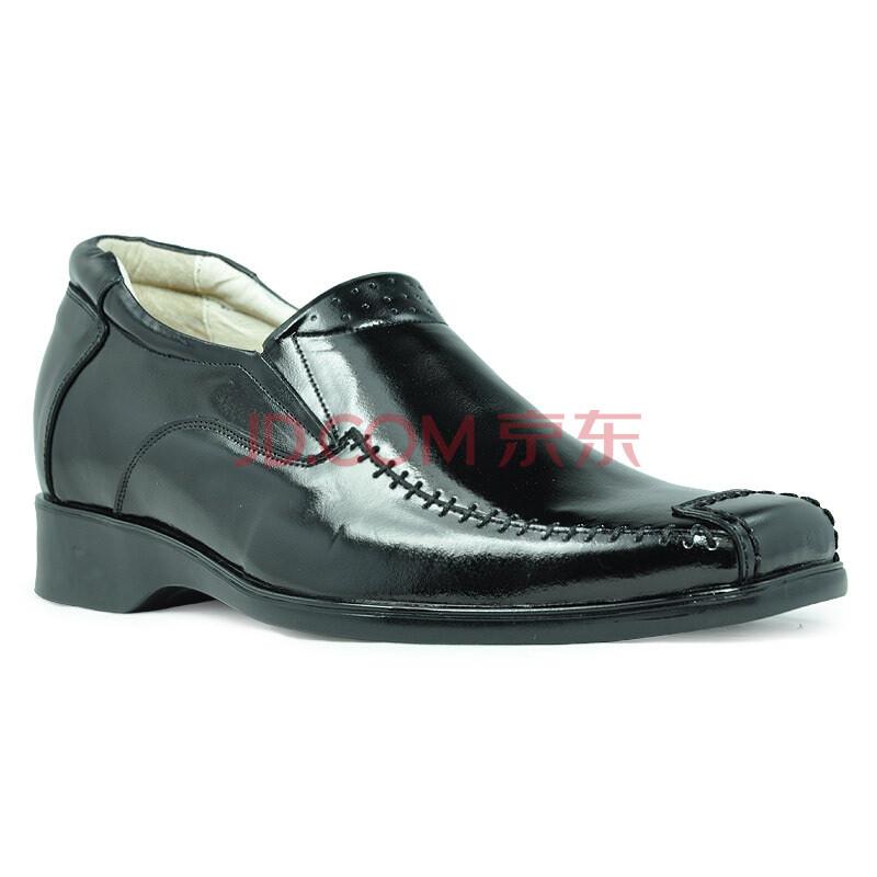 健高乐增高鞋男士内增高鞋商务休闲皮鞋男鞋1241e