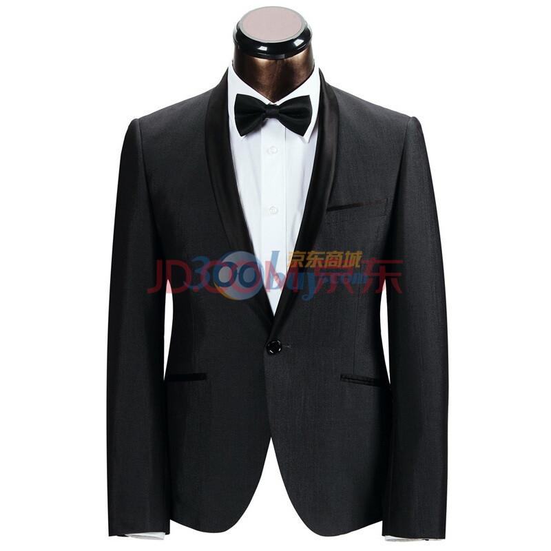 莱克斯顿/laxdn 男士韩版修身西装 休闲西服外套