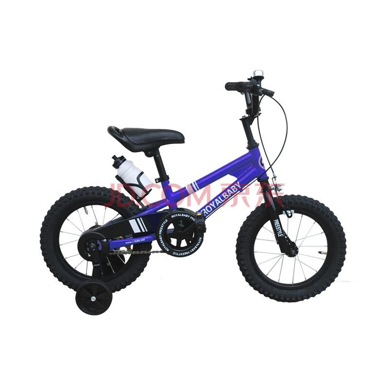 优贝14寸表演童车儿童自行车-蓝色(仅限1线城市购买)