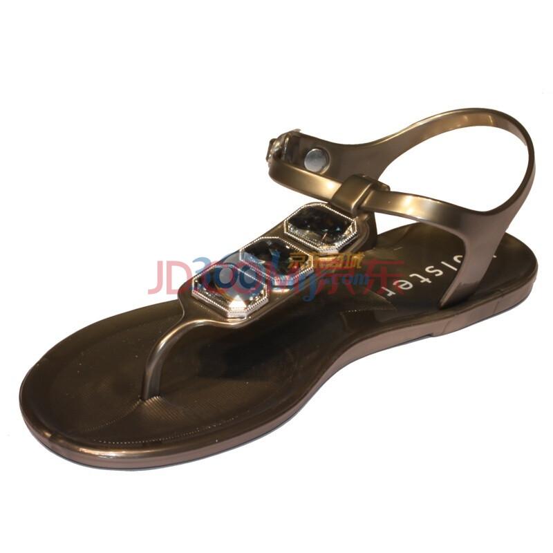 澳洲holster假日果冻凉鞋hst27亮银色