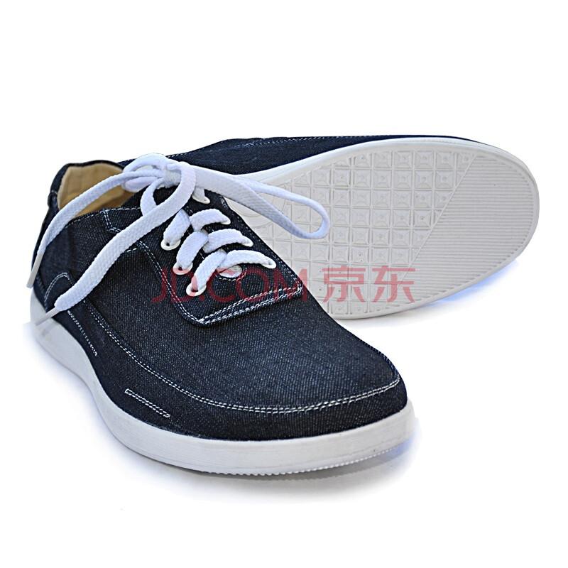内联升/老北京布鞋/秋冬鞋/手工男鞋/男士日常商务英伦休闲鞋6546 藏青色 44