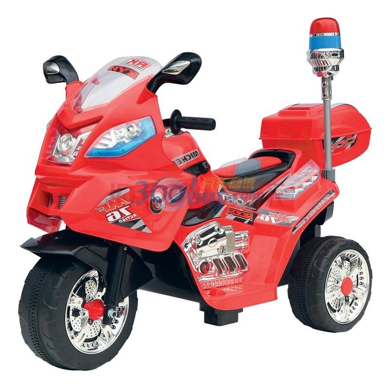 BeRica贝瑞佳 儿童电动车 三轮摩托车 带MP3