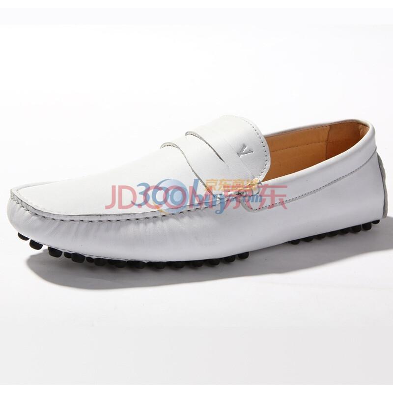 男士豆豆鞋v7152