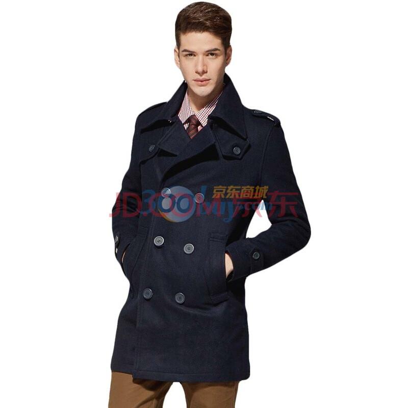 呢子大衣男款外套