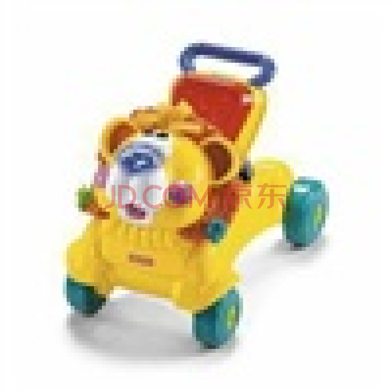 Fisher-price费雪 多功能二合一狮子踏行车 婴儿学步车玩具有音乐 L4511