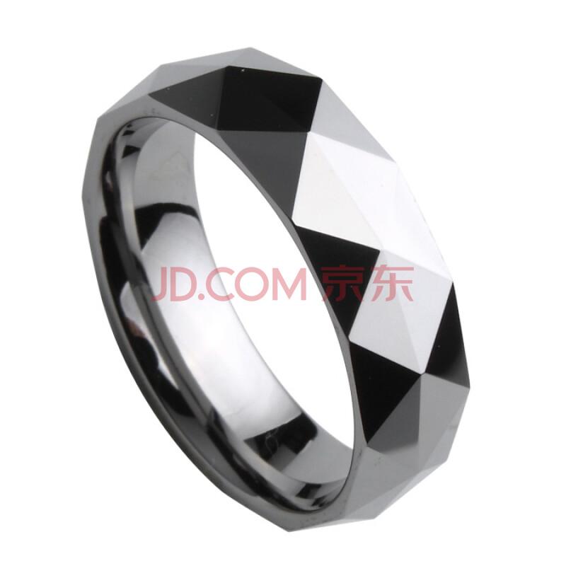 梦石黛珠宝首饰品 钨金戒指-菱形唯美 赠手机链