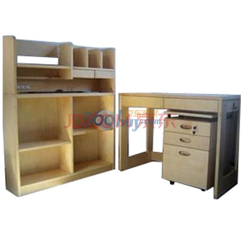 惠万家儿童学习套桌/书架套桌/实木学习桌/儿童桌 儿童家具