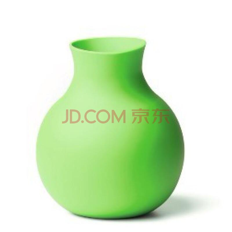 rubber vase, lime, small 摔不破花瓶 红色