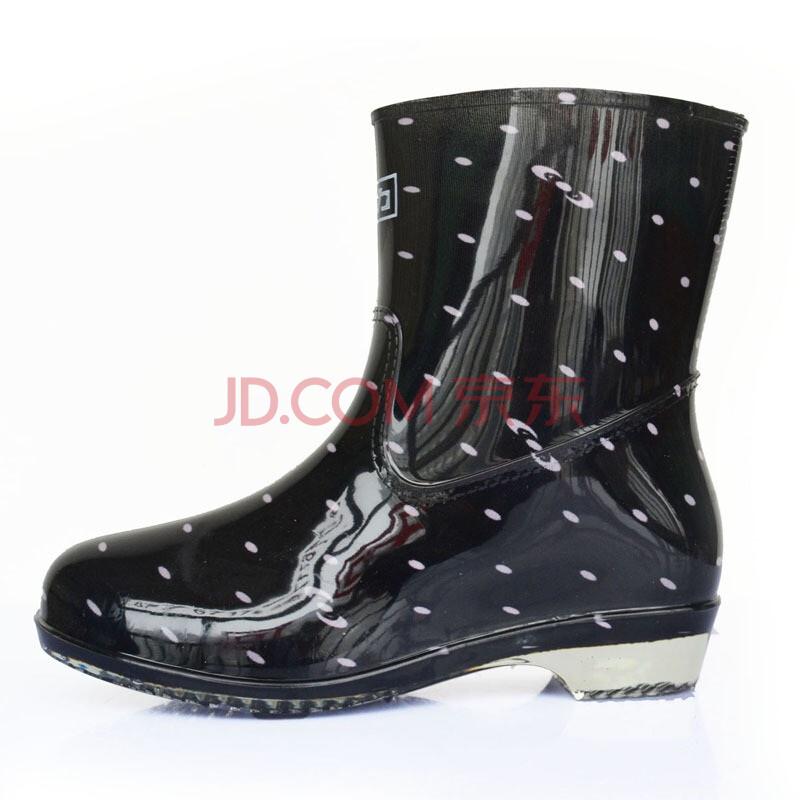 女式半筒雨鞋