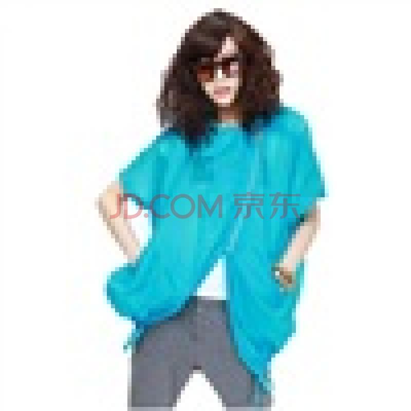玛呐mana2012夏装新款女糖果色女士休闲外套长袖透明