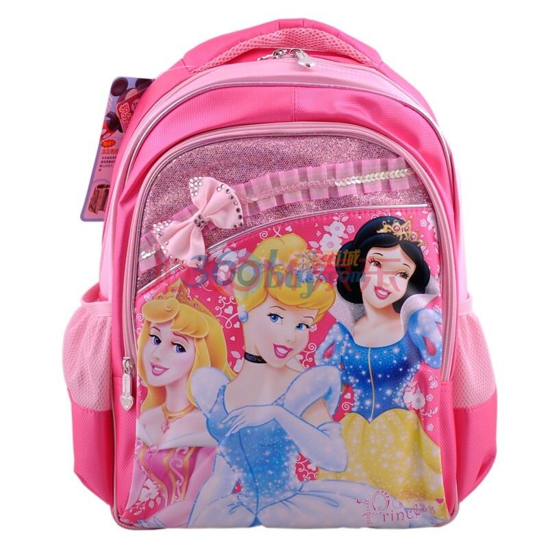 公主学生双肩书包/儿童背包