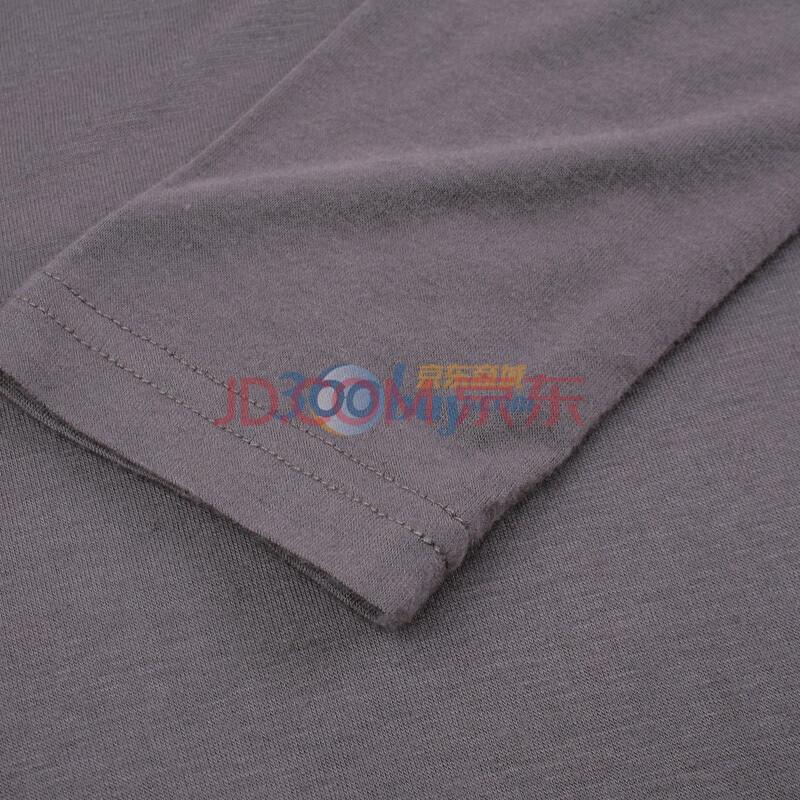 X-ray star 高领丝光针织打底衫(B13A7001) 灰色 M