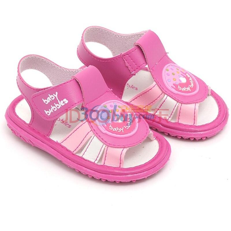 bata童鞋2011夏款女宝宝软底学步鞋凉鞋婴儿鞋叫叫鞋