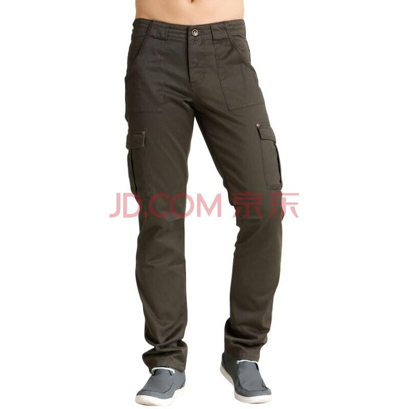 低腰男士休闲裤i(橄榄绿