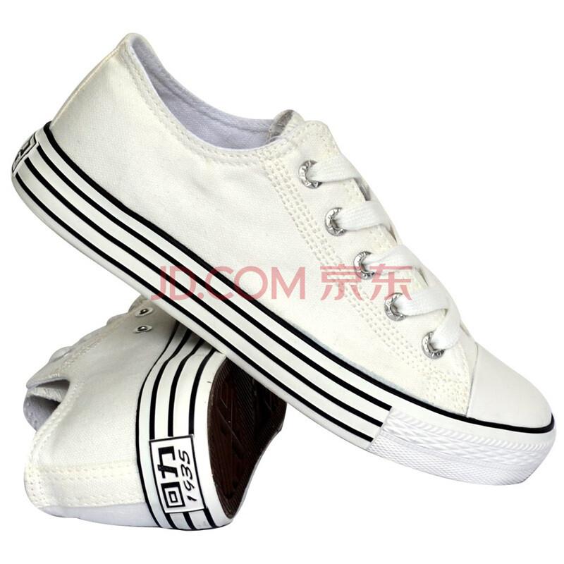 回力鞋warrior男鞋 休闲帆布鞋 低帮系带板鞋WXY 56