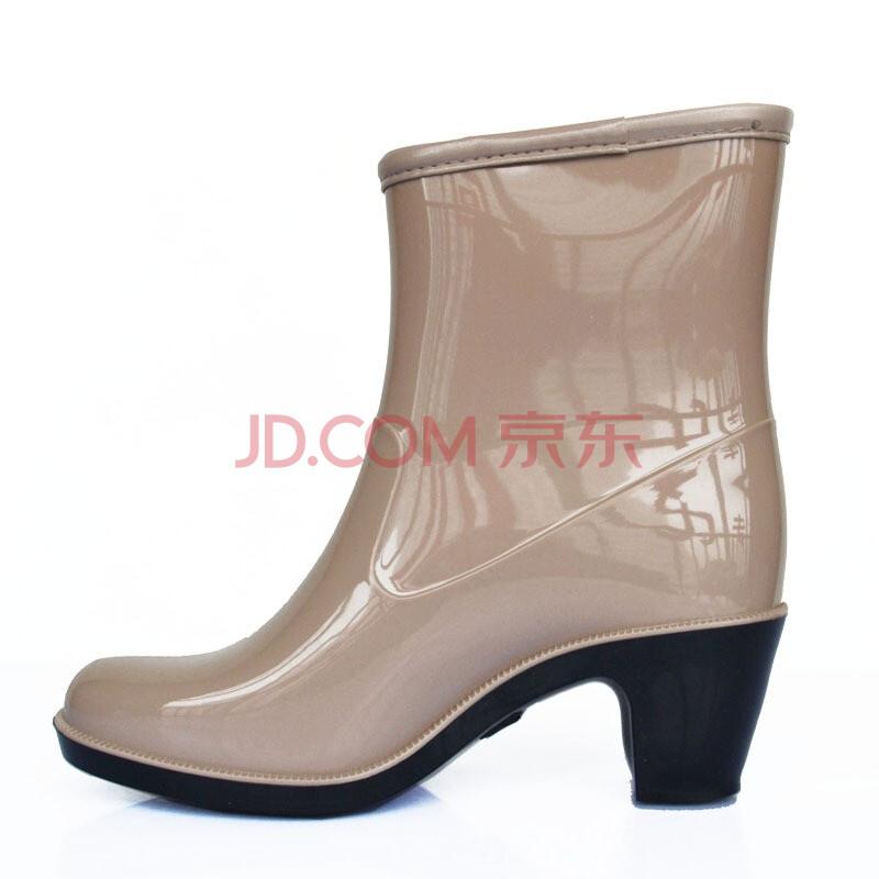 回力warrior 女式半筒雨鞋 520
