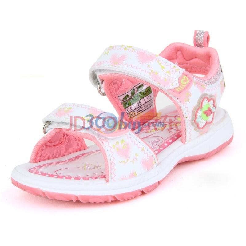 小兔哥(xiaotuge)夏季2012新款女童彩灯凉鞋