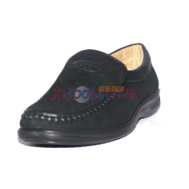 货到付款 步福祥 男鞋 休闲鞋 网眼鞋 传统布鞋 单鞋 男鞋 6pm1-017 黑色 44