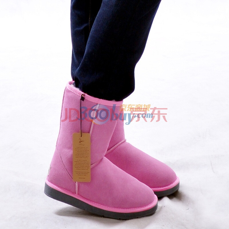 防滑女鞋女士棉靴子