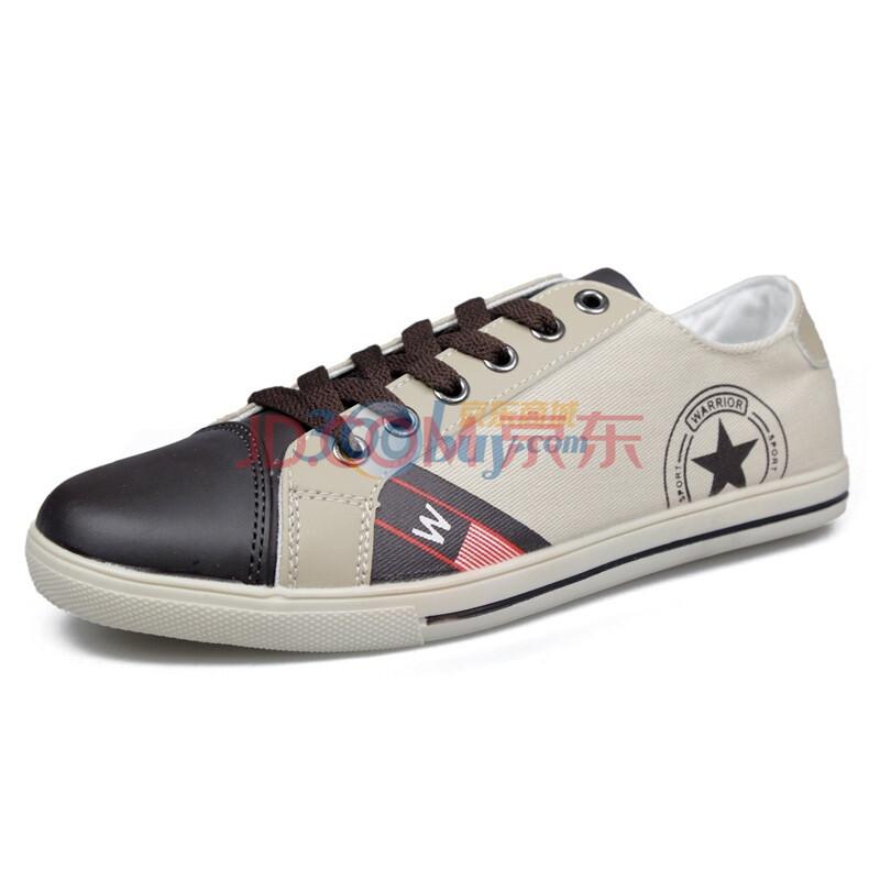 回力warrior 帆布鞋 运动鞋